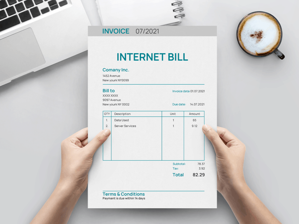 Check the expiration date of your internet plan